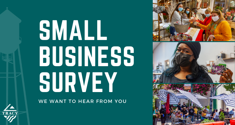 click here to take the small business survey
