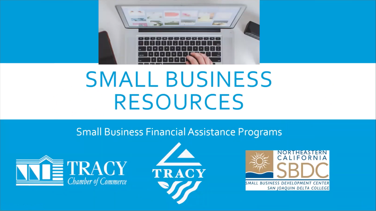 City of Tracy: Small Business Assistance Webinar Image